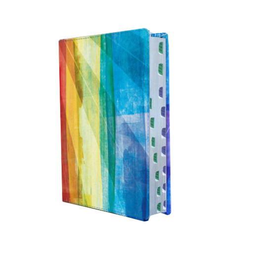 Biblia de Estudio Arco Iris con indice
