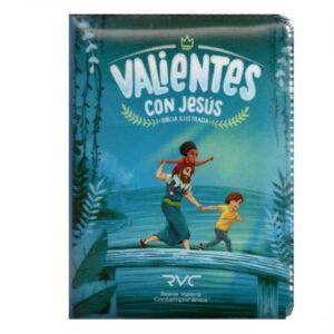 Biblia Valientes Azul