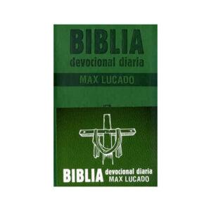 Biblia Devocional Diario Max Lucado Verde