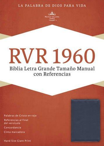Biblia letra grande con referencias