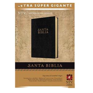 Biblia letra supergigante NTV