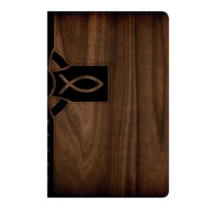 Biblia en NTV zipper color madera