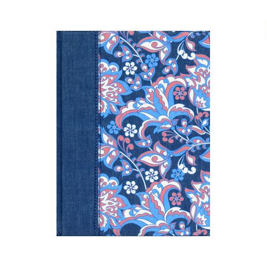 Biblia de apuntes ilustrada azul