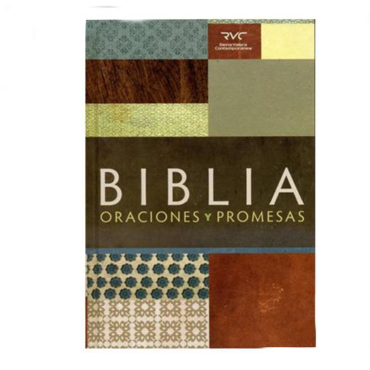 Biblia Oraciones y promesas RVC