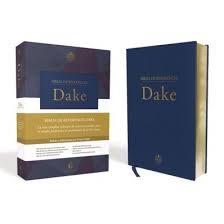 Biblia De Referencia Dake Azul