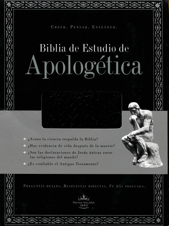 Biblia de Estudio Apologetica imitación piel