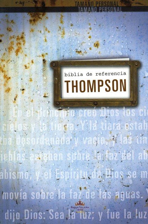 Biblia de Referencias Thompson RVR60 tamaño personal