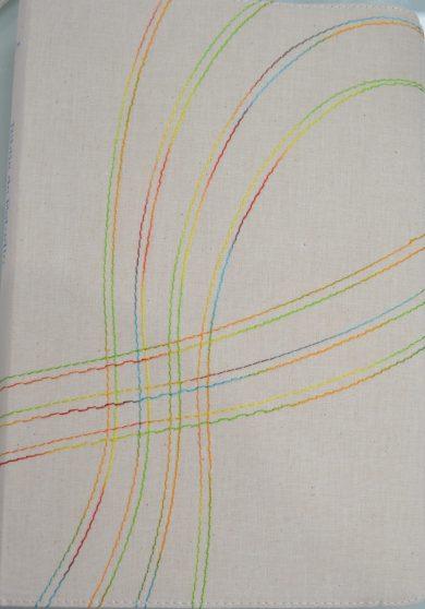Biblia de Estudio Arco Iris RVR60 en tela beige