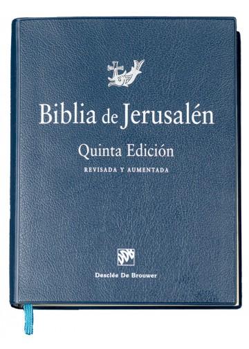 Biblia de estudio de Jerusalén quinta edición
