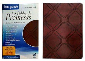 Biblia de Promesas RVR60 Café