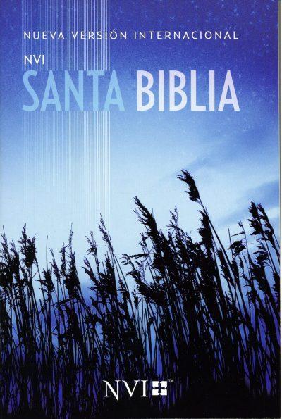 Biblia misionera Azul