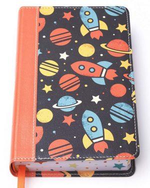 NVI Biblia Luz en mi camino cohetes, multicolor simil piel