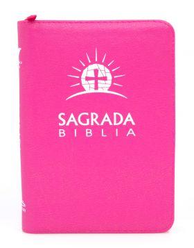 Biblia DHH Letra Grande Rosada