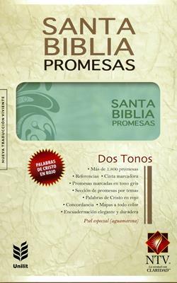 Biblia de Promesas Floral NTV