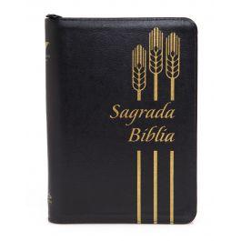 Biblia DHH Negra dorado