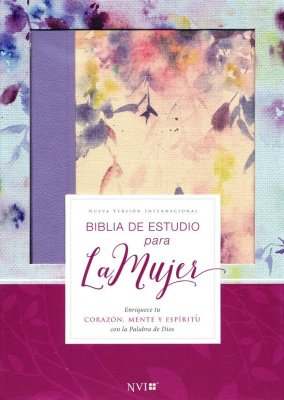 Biblia de Estudio para la Mujer NVI Lila tubiblia.com.co