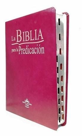 Biblia para la Predicación RVR 1960 Purpura tubiblia.com.co