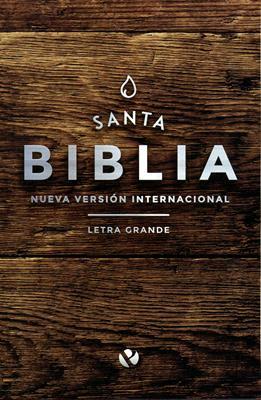 Biblia NVI Letra Grande Rústica