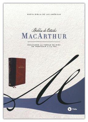 NBLA Biblia Estudio MacArthur Café