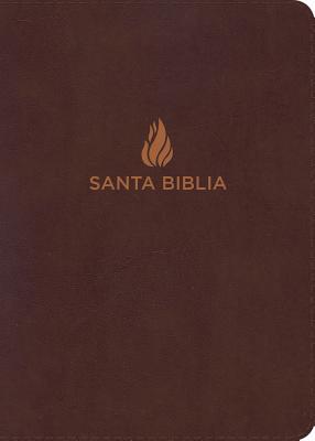 Biblia Letra Grande Manual Marrón, piel fabricada con índice RVR1960